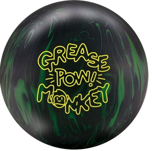Radical Grease Monkey Pow bowling ball  16 LB.  NEW IN BOX    1ST QUALITY BALL
