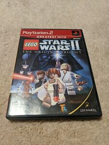 LEGO STAR WARS II: THE ORIGINAL TRILOGY Sony Playstation 2 PS2 Video Game