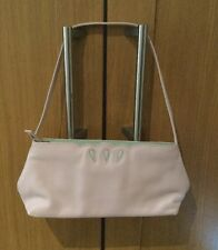 CUTE TULA SOFT PINK SMALL LEATHER SHOULDER BAG ( USED ONCE)