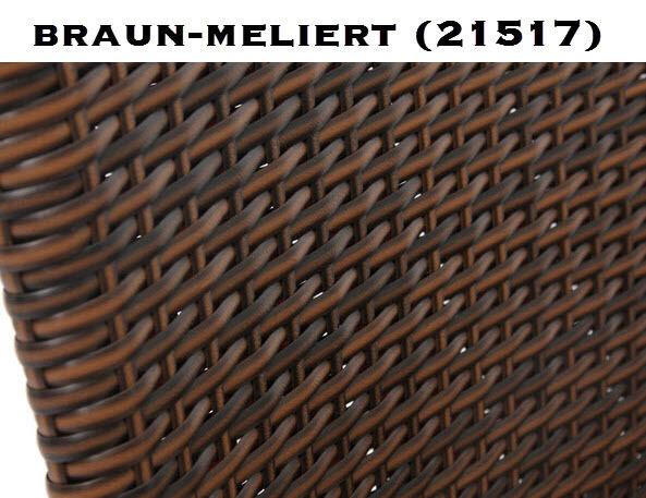 DELUXE POLY-RATTAN KORBSESSEL SESSEL SESSEL SESSEL GARTENSESSEL GARTENSTUHL INDOOR OUTDOOR NEU 99a511