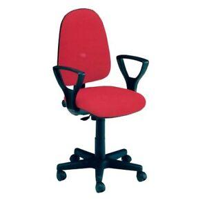 Sedia girevole per scrivania con braccioli ebay for Sedia girevole