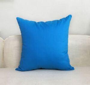14-24/'/'100/%Cotton Canvas Pillow Case Home Decor Throw Pillow Case Cushion Cover