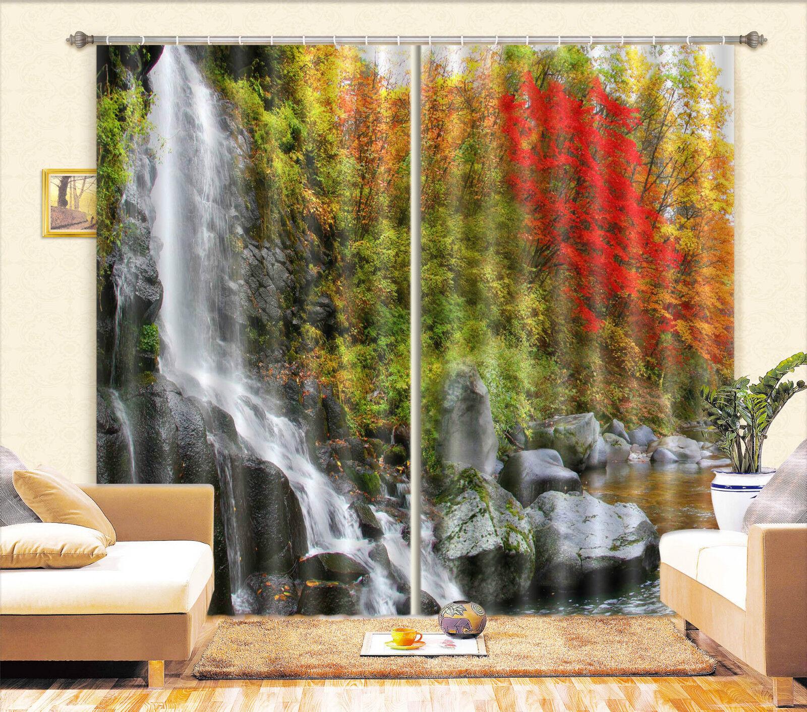 3d paesaggio bosco 4 blocco foto sipario pressione sipario tende tessuto finestra de