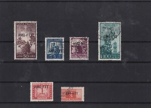 italy trieste mixed stamps 1950 ref 7362