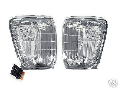 DEPO Clear Corner Light Pair For 90-91 Toyota 4Runner /& 89-91 Pickup Truck 4WD