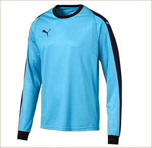 Puma-ropa-deportiva-hombre-futbol-portero-sudadera-camiseta-manga-larga-azul-XL