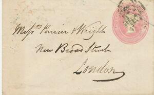 GB-1852-superb-QV-1-D-pink-postal-stationerey-envelope-Size-A-with-seal-034-53-034