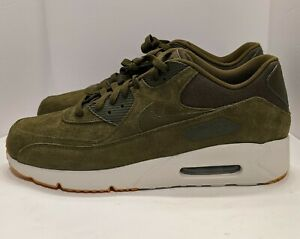 Details about Nike Air Max 90 Ultra 2.0 LTR Mens Olive Canvas Gum Shoes Size 13 924447 301