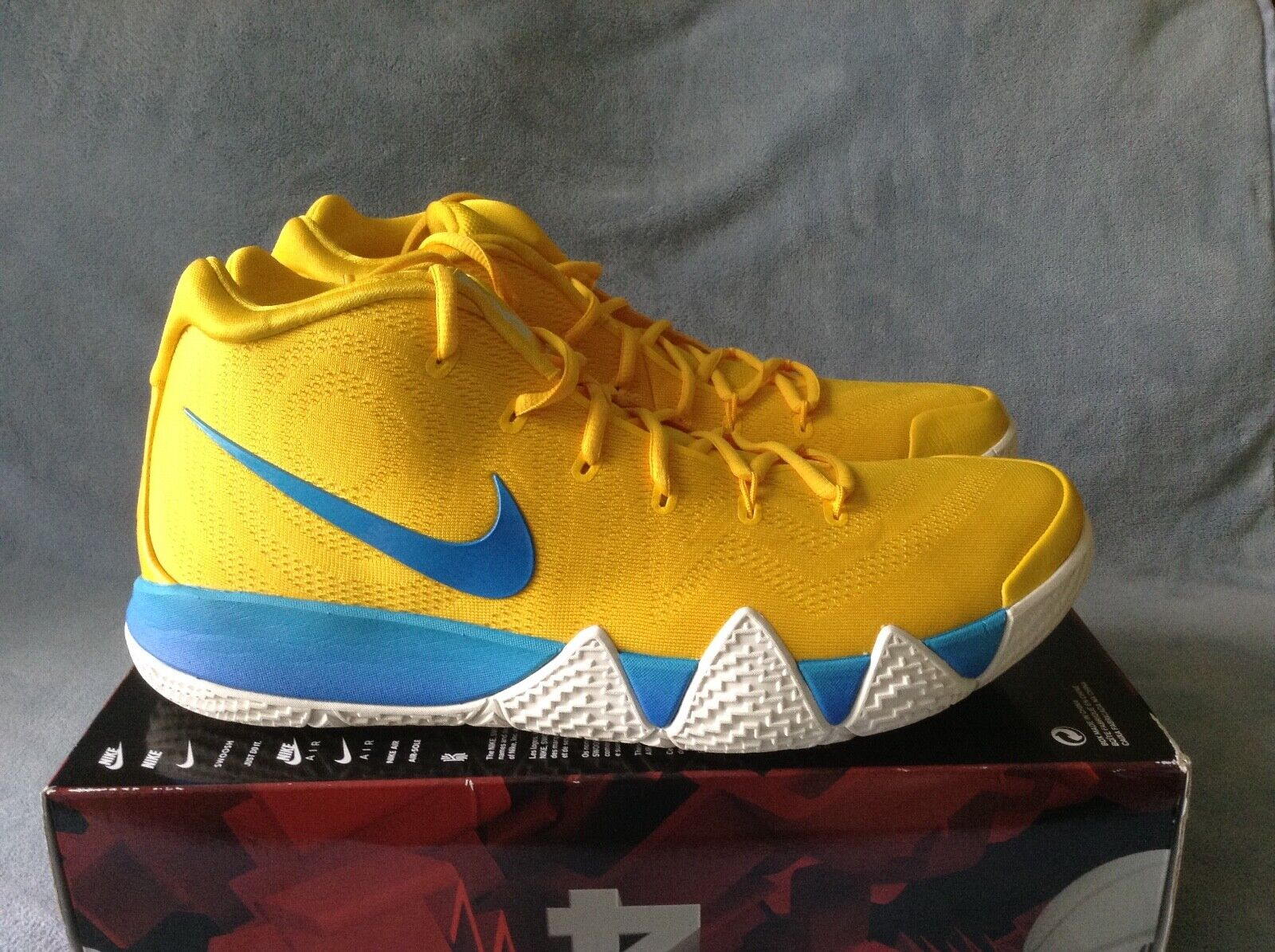 Nike Kyrie 4 Kix Cereal yellow BV0425-700 Size 14