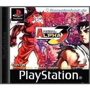 Ps1-Sony-PlayStation-1-juego-Street-Fighter-Alpha-3-con-embalaje-original
