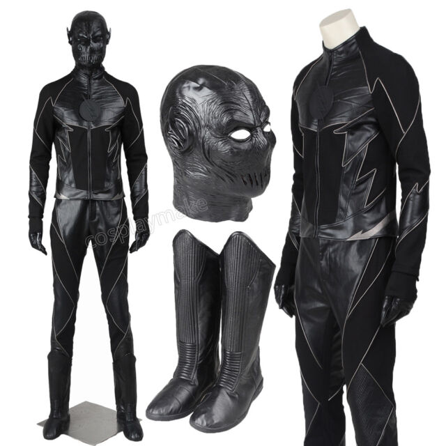 The Flash Season 2 Hunter Zolomon Zoom Cosplay Costume Full Set Halloween  Outfit