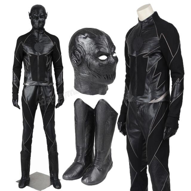 The Flash Season 2 Hunter Zolomon Zoom Cosplay Costume Full Set Halloween  Outfit