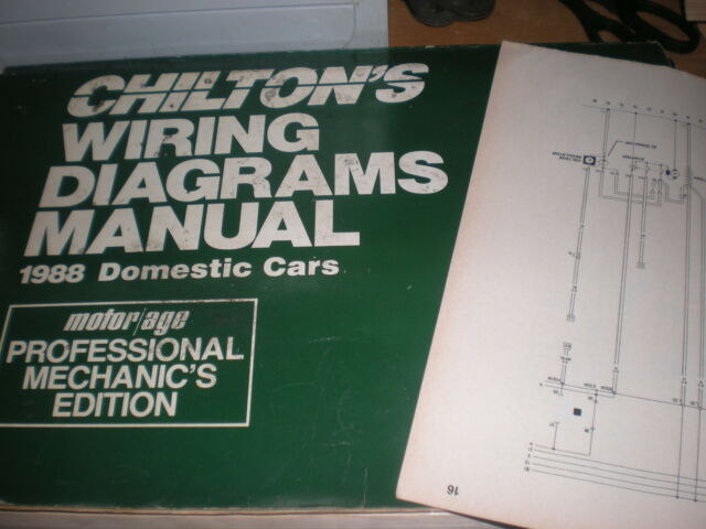 1988 CHRYSLER FIFTH AVENUE NEWPORT WIRING DIAGRAMS ...