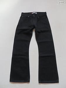 Levi-039-s-512-Bootcut-Jeans-Hose-W-30-30-Schwarz-wie-NEU-original-Laenge