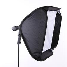 "60x60cm 24""x24"" Softbox Diffuser Bowens Bracket Holder fr Speedlite Flash Light"