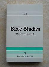 The Interwoven Gospels Robertson L Whiteside Church of Christ ~ Like New !!