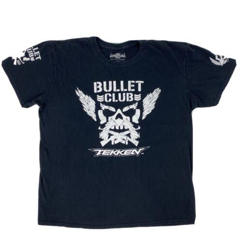 Bullet Club TEKKEN Men's 2XL Game Over Pro Wrestli