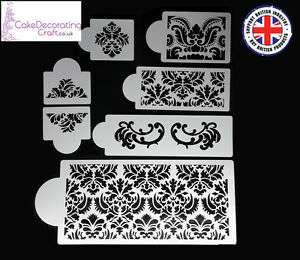 Cake Decorating Stencils Uk : Stencils Cake Cupcake Decorating Craft Airbrush ...