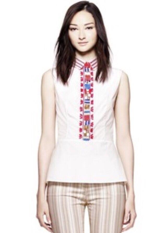 NWT Tory Burch Rada Shirt Size 4
