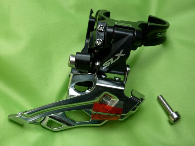 Shimano SLX Umwerfer FD-M676-B Down Dual 34,9 31,8 28,6 MTB Mountainbike NEU