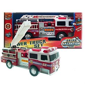 Camion dei Pompieri Modellino Lunghezza 38 cm con Luci e Suoni Grandi Giochi