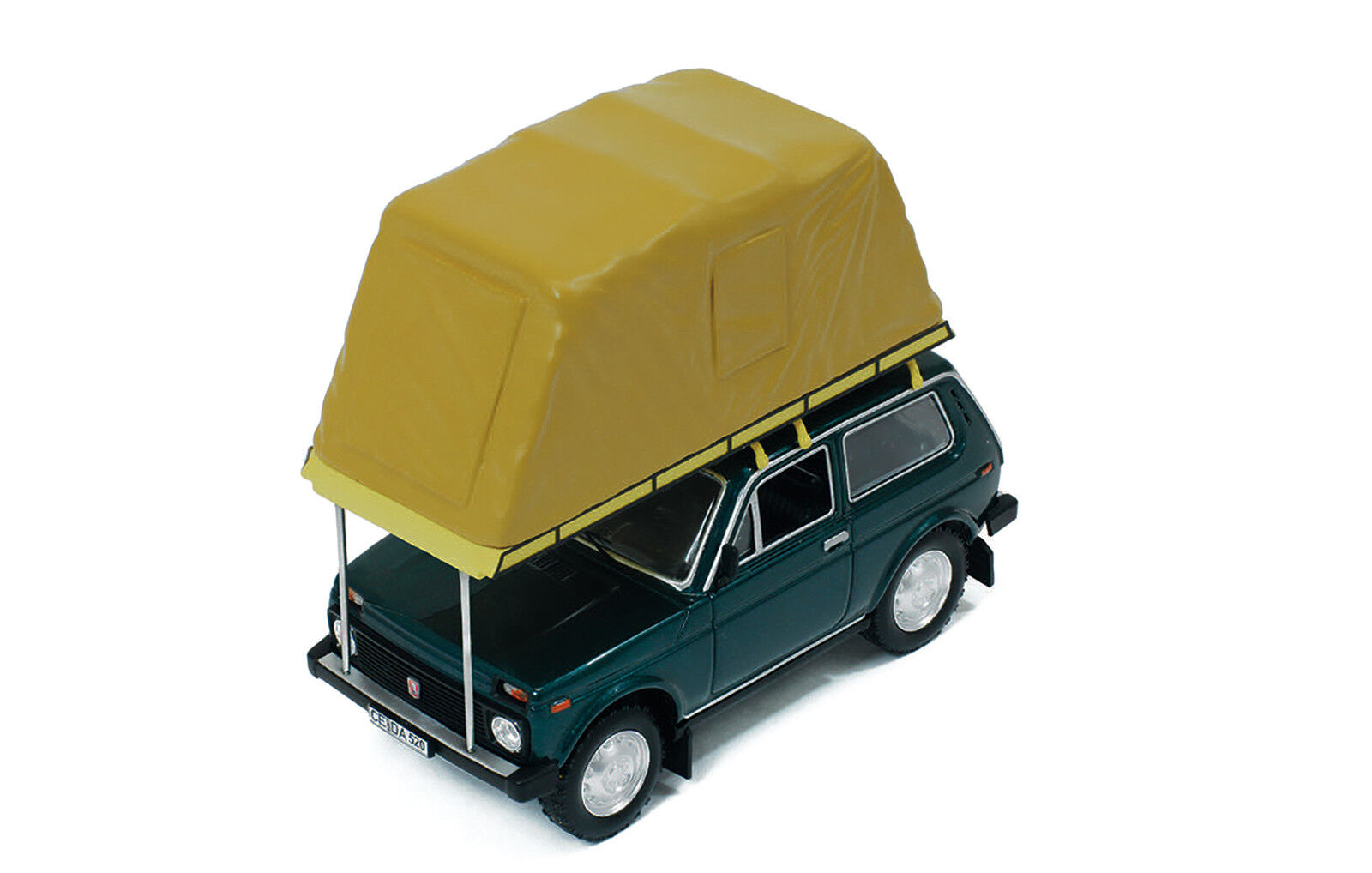 IST 296MR - Lada Niva with roof tent 1981 verde 1 43