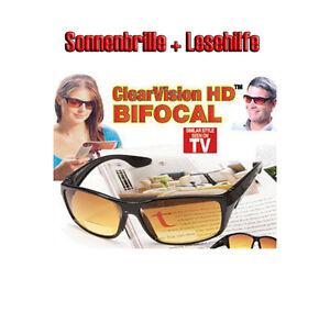 Sonnenbrille-HD-lesehilfe-Clearvision-BIFOCALS-UV-Schutz-HD-Vision-Leser-Neu