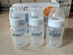 Brand-New-Philips-Avent-Classic-Bottles-9-Ounce-3-bottles