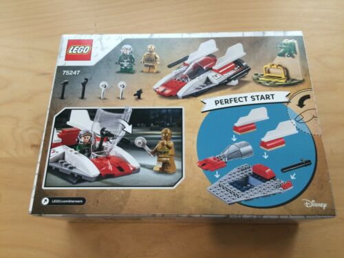 LEGO 75247 Star Wars Rebel A-Wing Starfighter Battlefront Games Set Collection