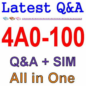 Alcatel-Lucent Virtual Private Routed Networks 4A0-106 Exam Q/&A PDF+SIM
