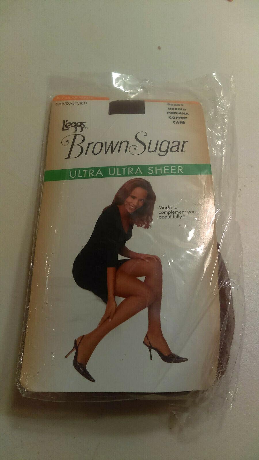 L/'eggs 73908 Women/'s Brown Sugar Ultra Sheer Pantyhose