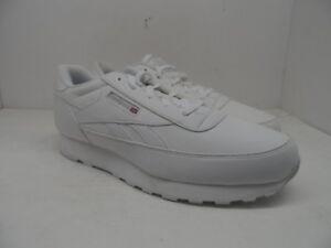 b3262ed23a508 Reebok Men s Classic Renaissance Leather Athletic Shoe White Size 13 ...