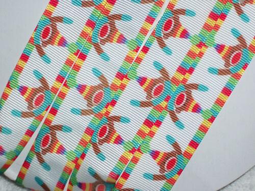 "7//8/"" Hair Bows Pacifier Holder 2y DIY Crafts Sock Monkey Grosgrain Ribbon"