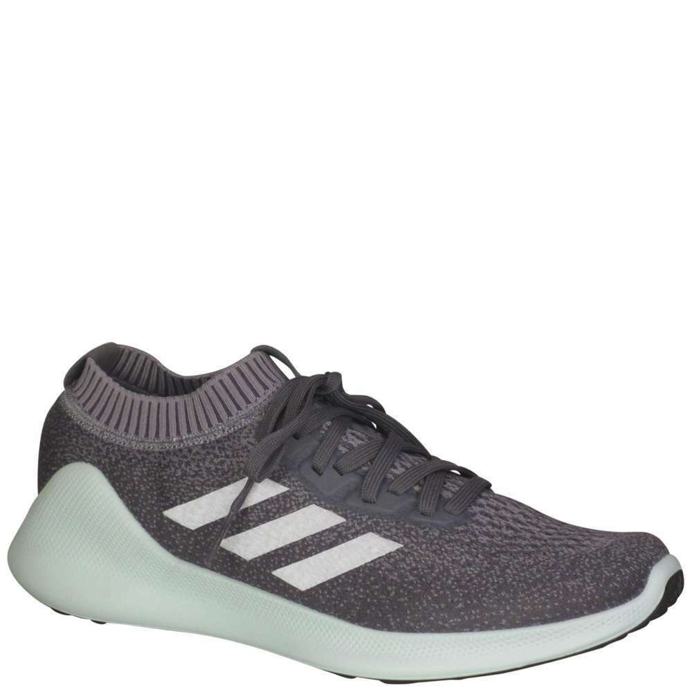 Adidas Purebounce Men's [ Grey Silver Metallic Ash Green ] Running - MD96585