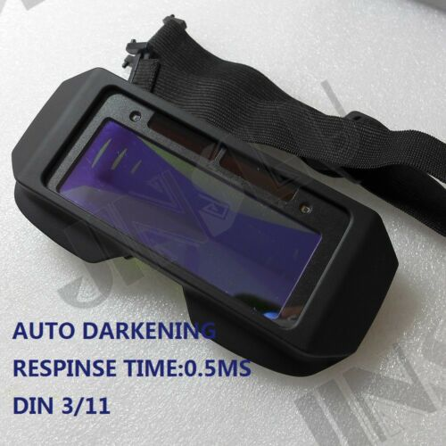 Light Weight Solar Auto Darkening TIG MIG welding mask helmet goggles glasses