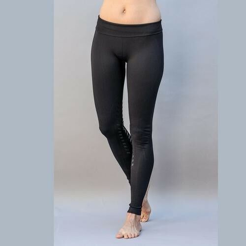 Goode Rider Seamless Designer Knee Patch Riding Tights High or Low Rise