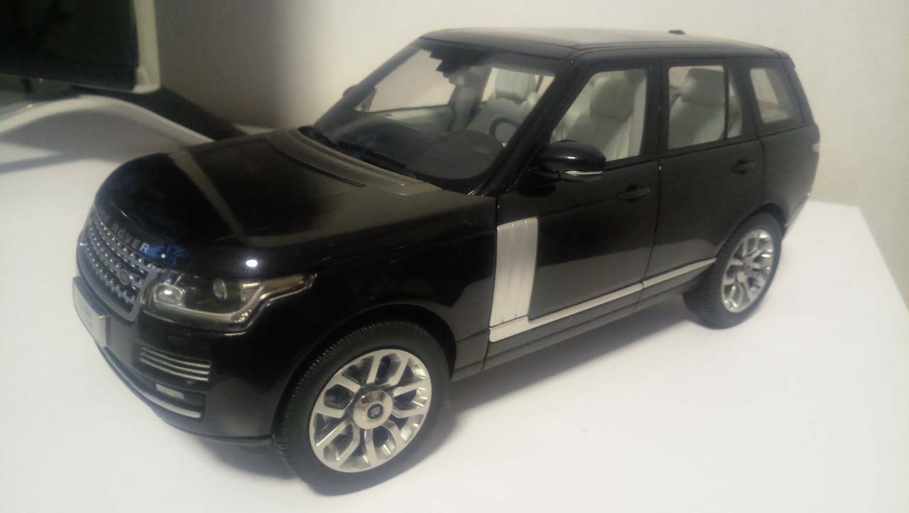más orden 1 18 Range Rover Rover Rover Sport Utility Vehicle Negro-gt autos Welly  n ° 1 en línea