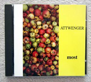 CD / ATTWENGER / MOST / AUSTRIA / RARITÄT / 1991 /