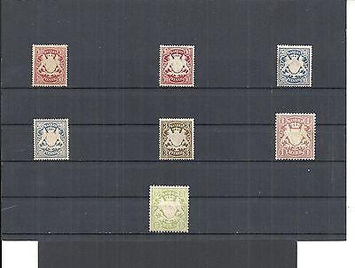 Bayern 1875-1911 33-74 */** Einzelmarken Aus Minrn Ungebraucht/postfrisch äSthetisches Aussehen