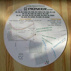 Pioneer-PL-10-12-15-51-55-PL-A35-y-PL-A45-del-brazo-Stylus-transportador-de-alineacion