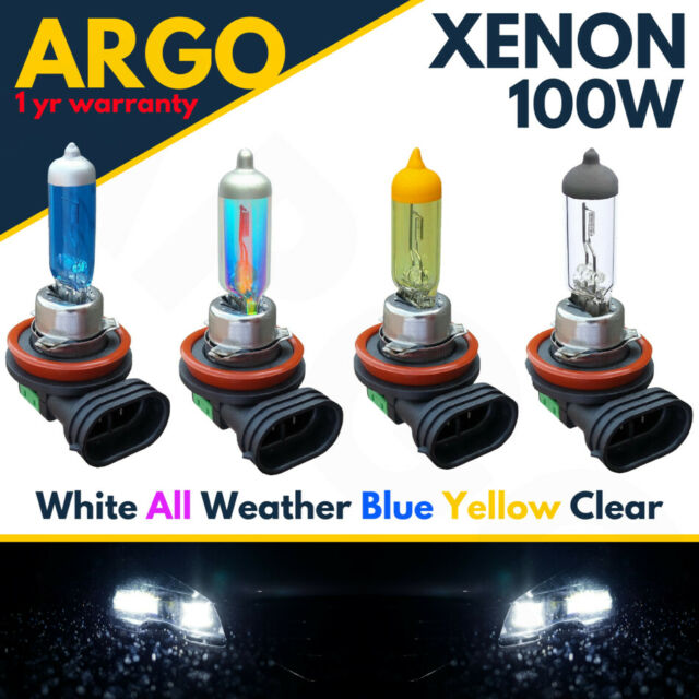 2 X H11 711 55w Clear Halogen xenon Headlight Front Fog Drl Bulbs Lamp 12v