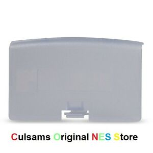 Glacier-CLEAR-PURPLE-Game-Boy-Advance-GBA-Battery-Cover-Door-Replacement-Part