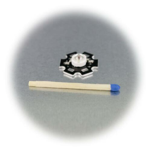 10er Pack Alto Rendimiento LED Chips en Platina 3W UV Luz Negra Highpower