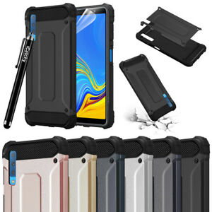 the latest cb9dd cdda7 Details about For Samsung Galaxy A7 2018 Phone Case Rugged Armor Hybrid  Heavy Duty Tough Cover
