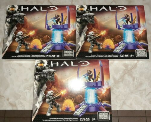 Mega Bloks Halo Covenant Watchtower 239 Pieces Building Set Brand New