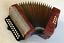 """thumbnail 1 - HOHNER """"ERICA"""" melodeon, diatonic two row button accordion, key: C - F"""