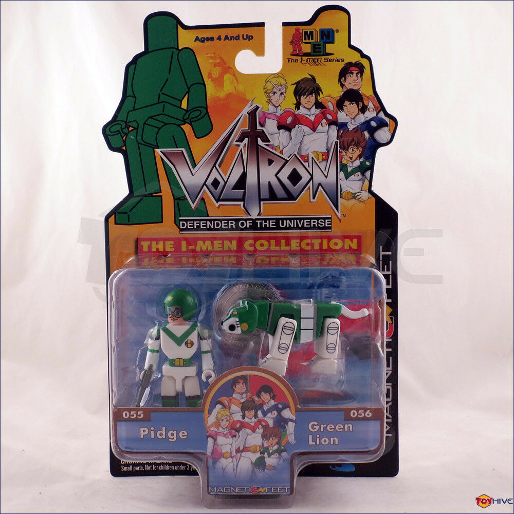 Voltron Defender of the Universe - Pidge & Grün Lion - Toynami I-Men collection
