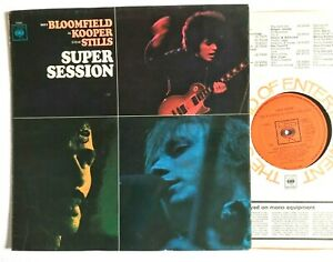 SUPER-SESSION-Mike-Bloomfield-Al-Kooper-Steve-Stills-1968-Blues-Rock-MONO-LP
