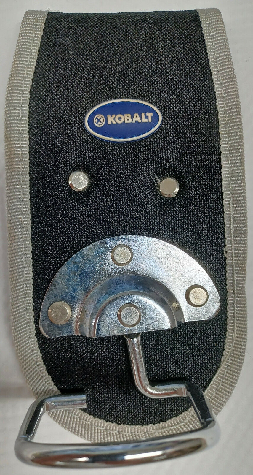 Kobalt Polyester Hammer Holder attach this to your tool belt or clip it on too!