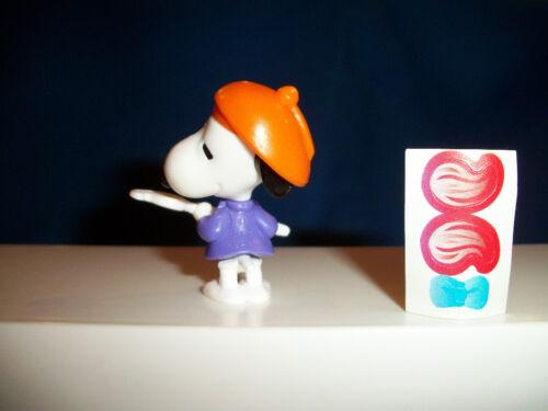 SNOOPY PAINTER ARTIST Kinder Surprise Figur PEANUTS K94